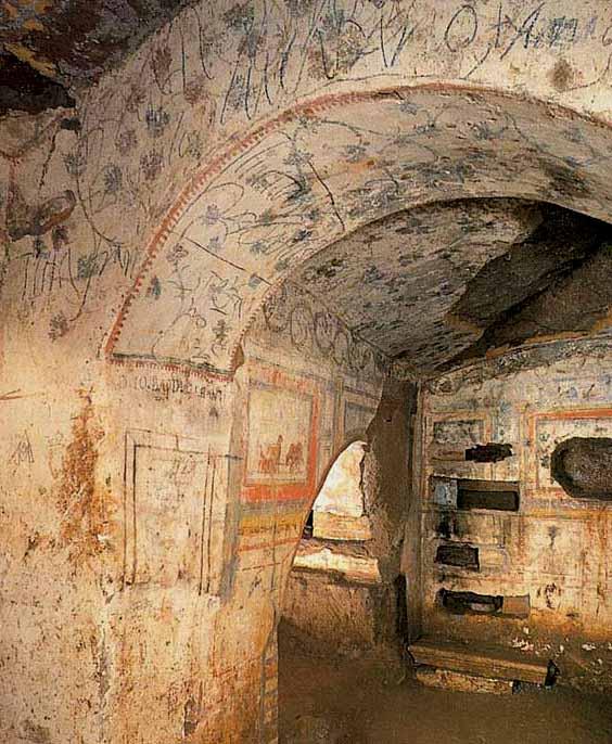 Catacombe di Domitilla 2
