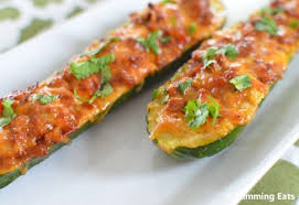 3Stuffed courgettes