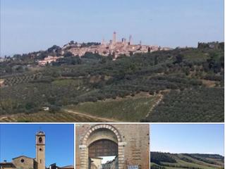 Siena and San Gimignano
