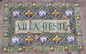 ville d'este - mosaico