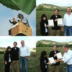 hot air balloon con Jeff Foxworthy