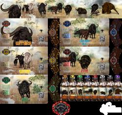 Bufalo Negro Rótulos