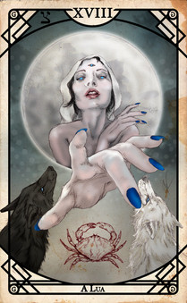Arcano XVIII - A Lua