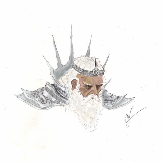 Rei Goda - Técnica mista