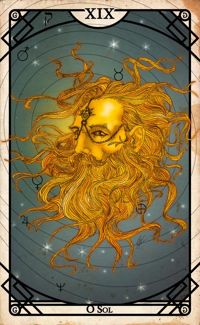 Arcano XIX - O Sol