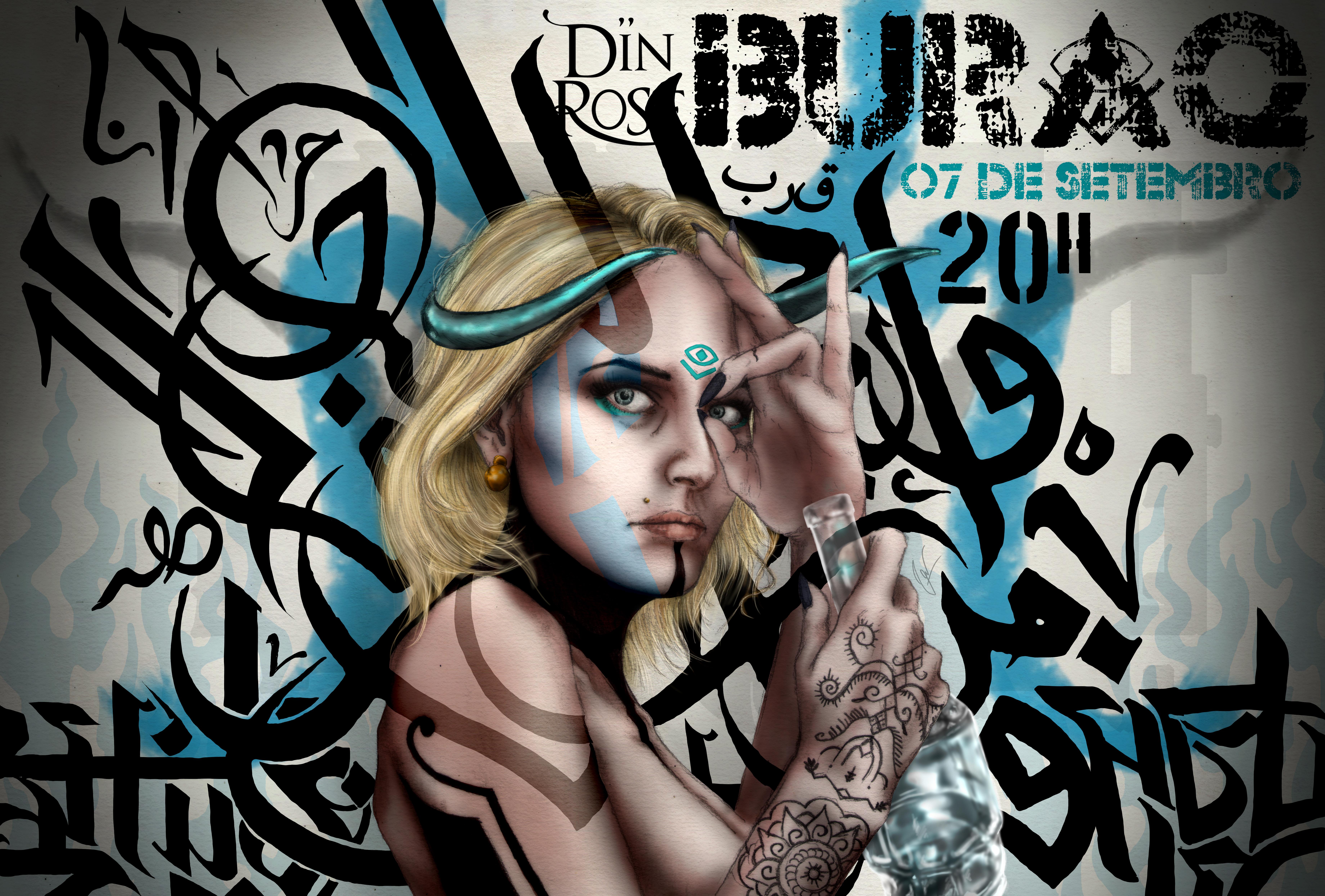 BURAQ - show Din Rose