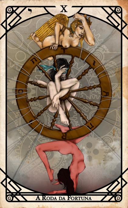 Arcano X - A Roda da Fortuna