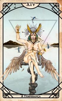 Arcano XIV - A Temperança