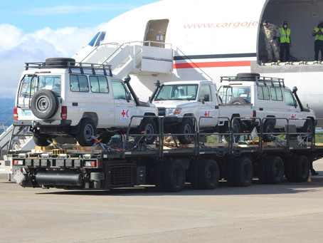 IFRC Logistics in the Americas