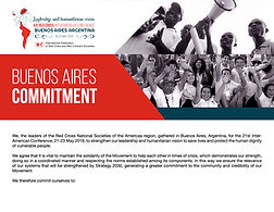 Red Cross Buenos Aires Commitment 2019 -