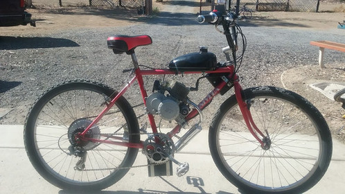 Univega Motorized Bike