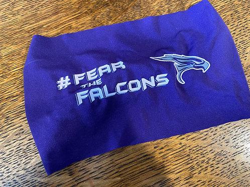 Purple DryFit Falcon Headband