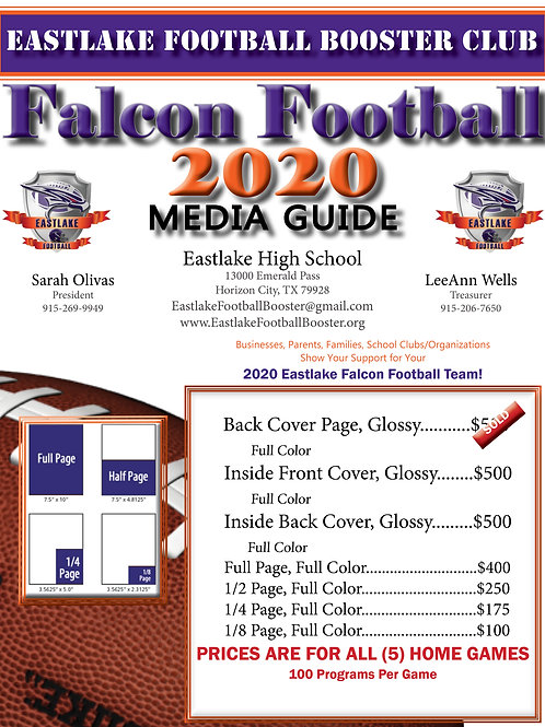 2020 Media Guide/Advertising