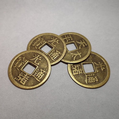 Chinese-style Coins for Charming Chinese Challenge