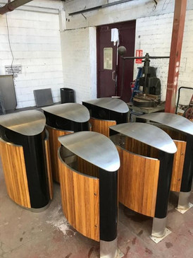 Another bin order complete- the wood is