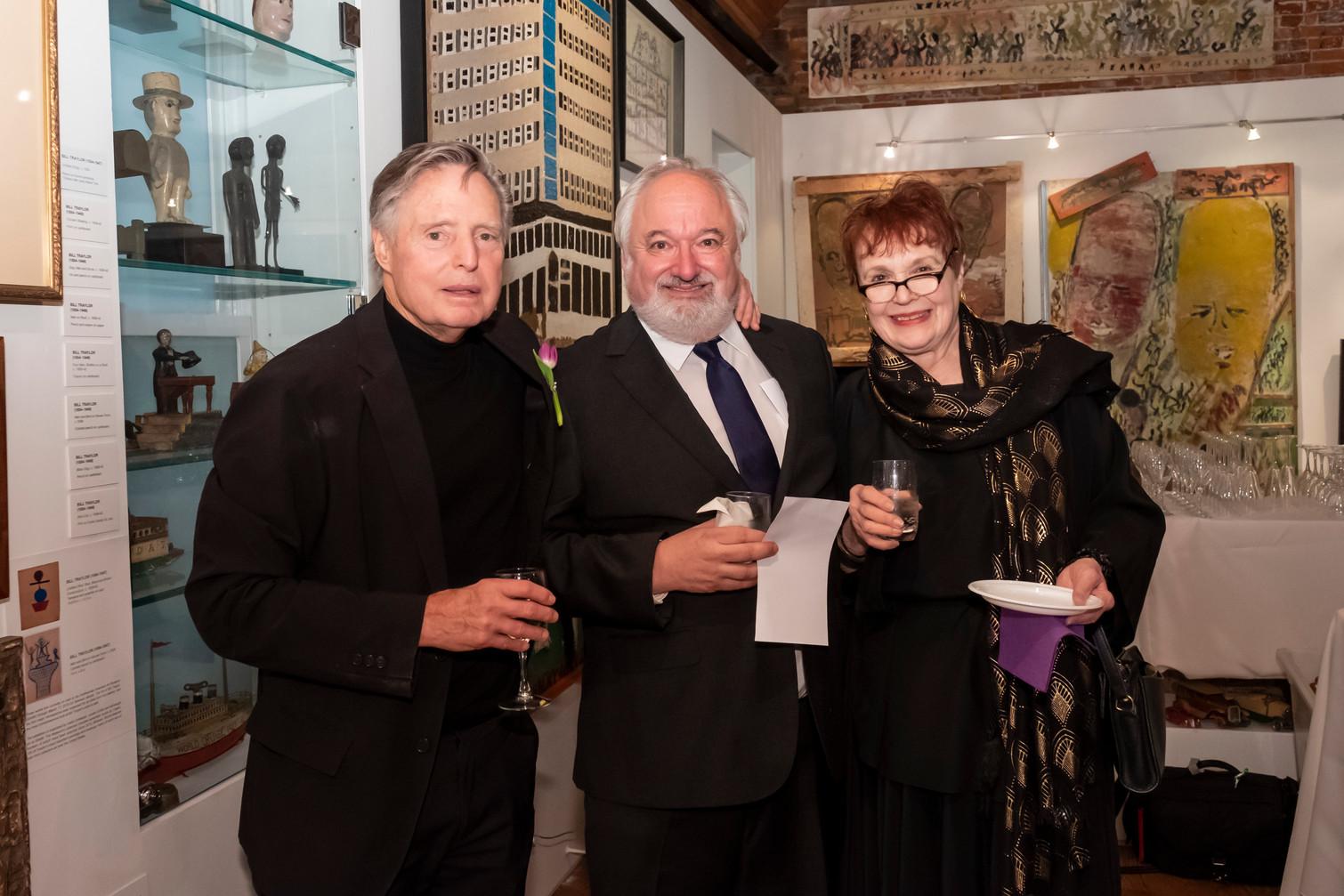 Victor Keen, Roy Steinberg, and Marlena Lustik