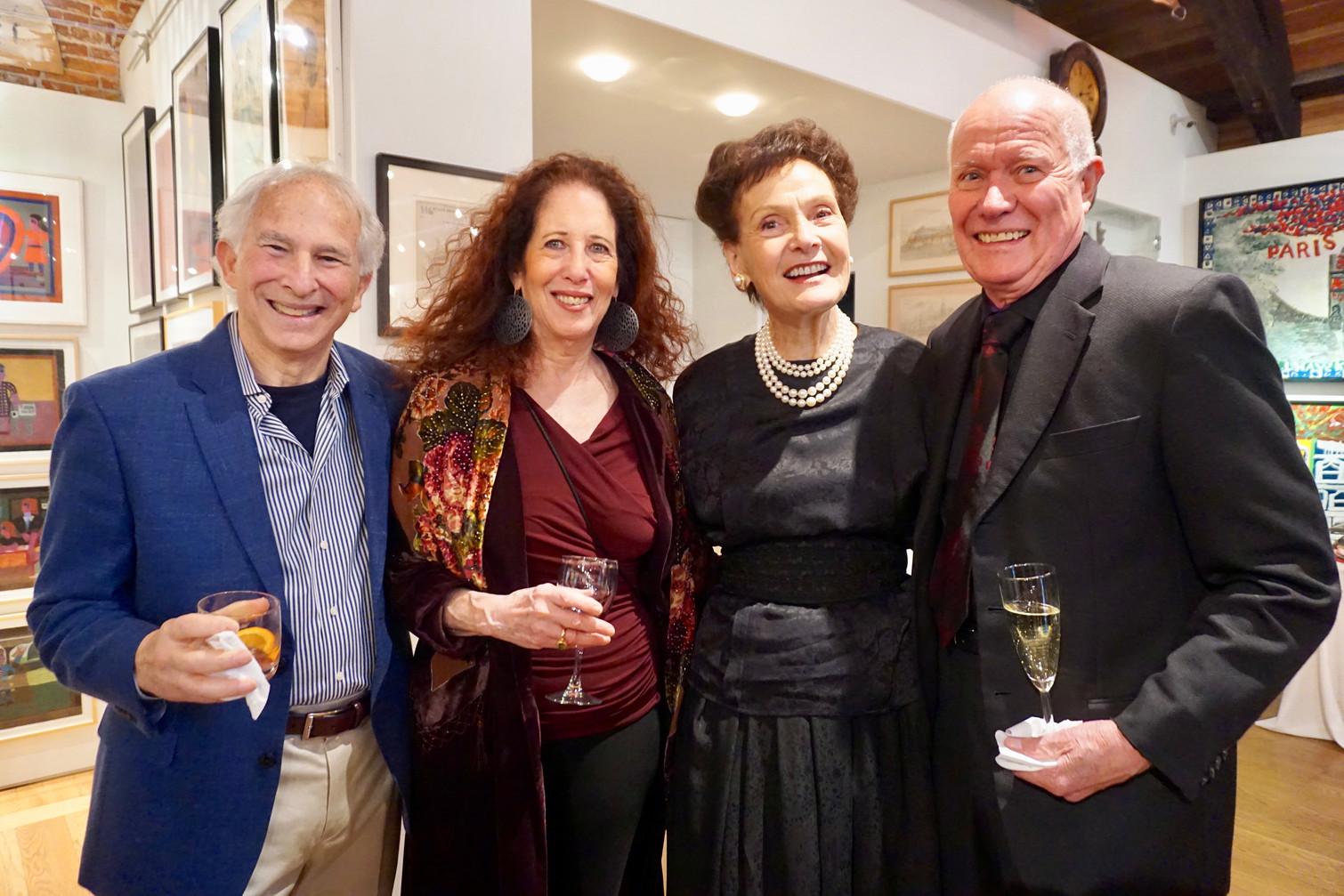 Michael Coleman, Ellen Singer Coleman, Barbara Tiffany, Robert Tiffany
