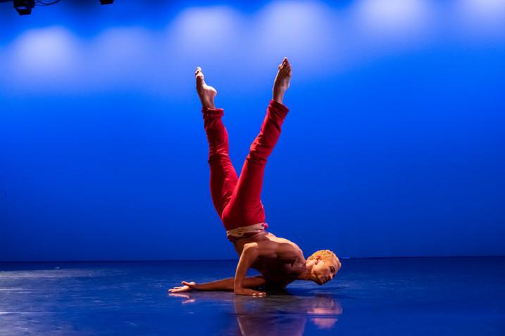 "Ari Mayzick in ""Prelude."" Choreography by Buglisi Dance Theatre"