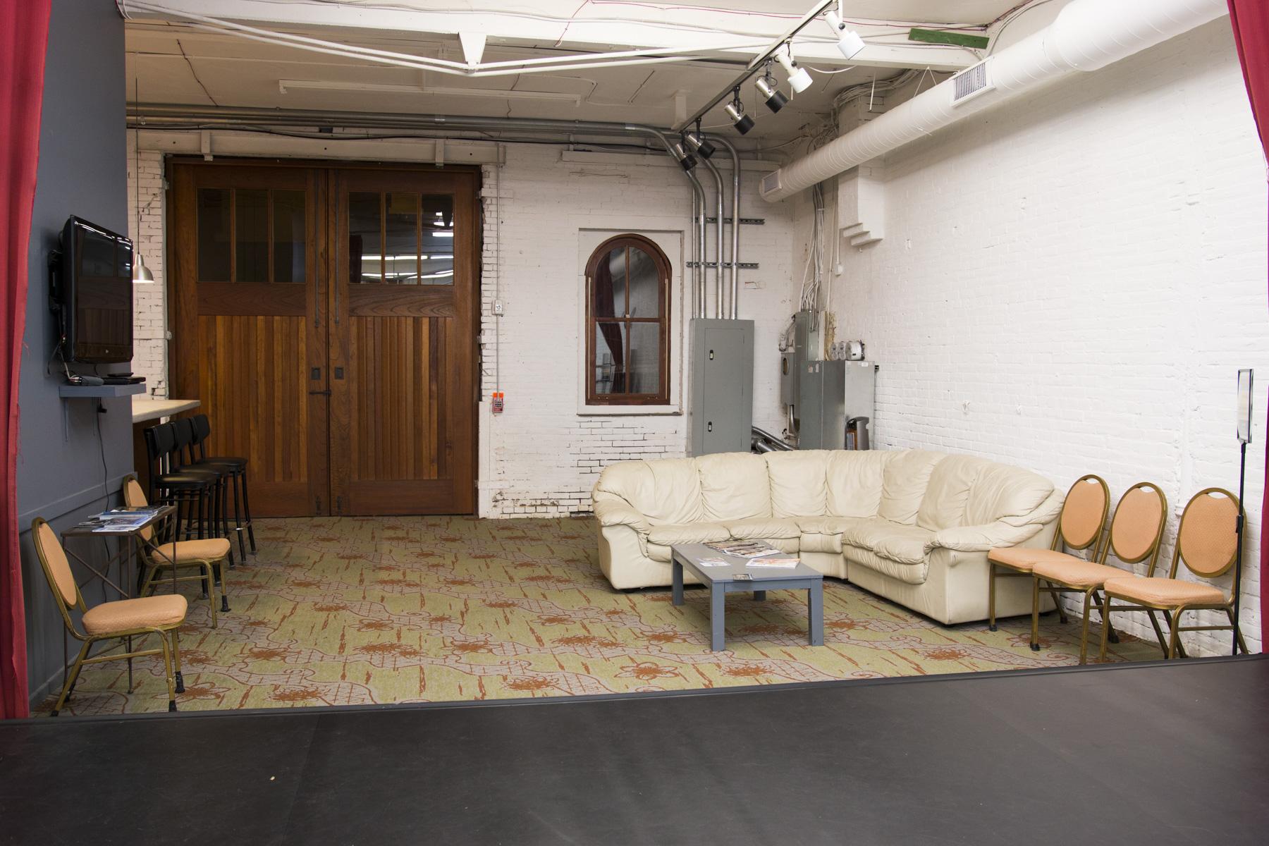 Studio B Waiting Area