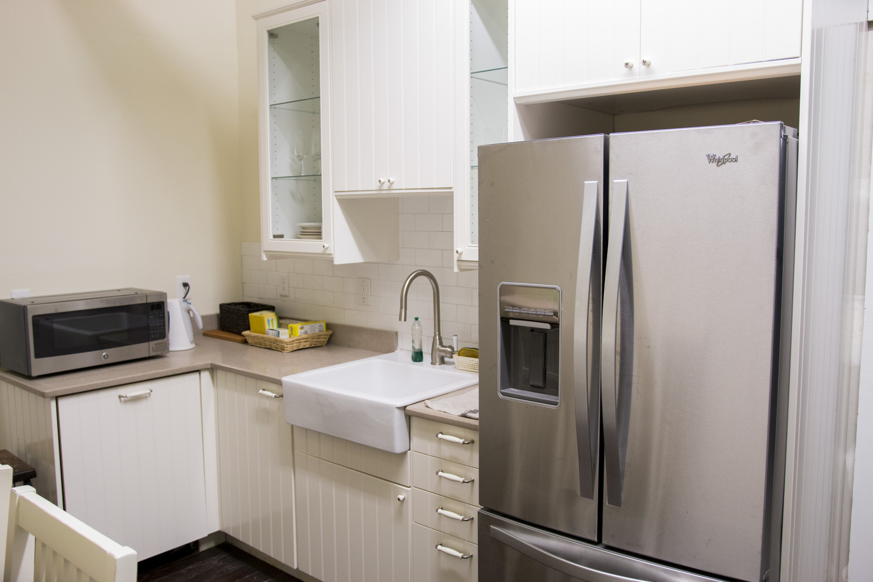 New Upstairs Kitchen
