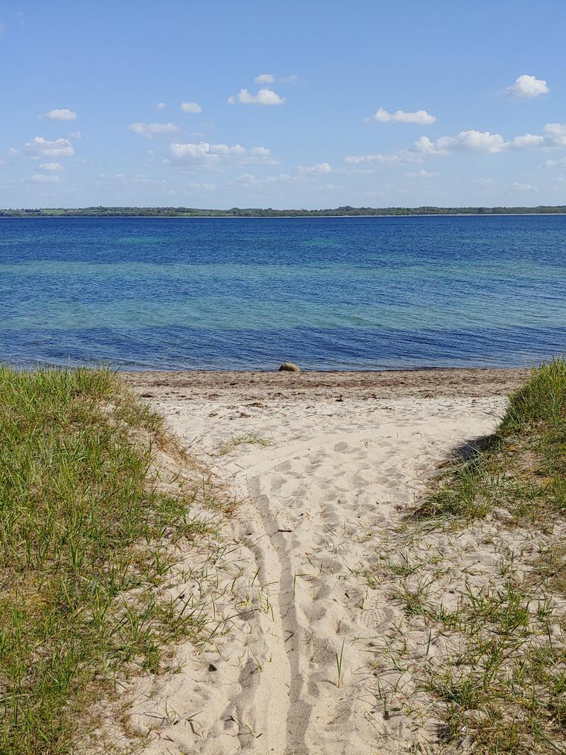 Zuwegung zum Strand