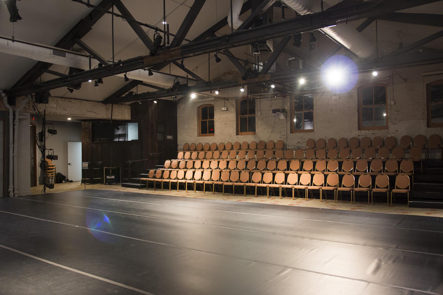 Theater with New Dance Floor