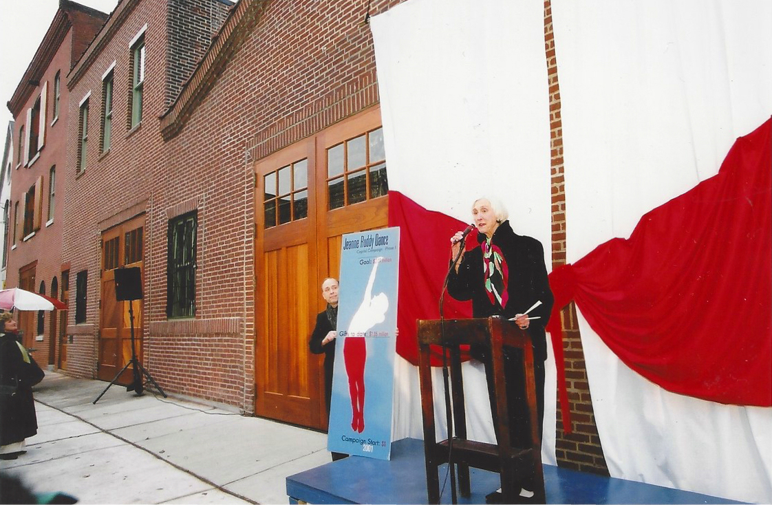 Facade Ribbon Cutting 2001