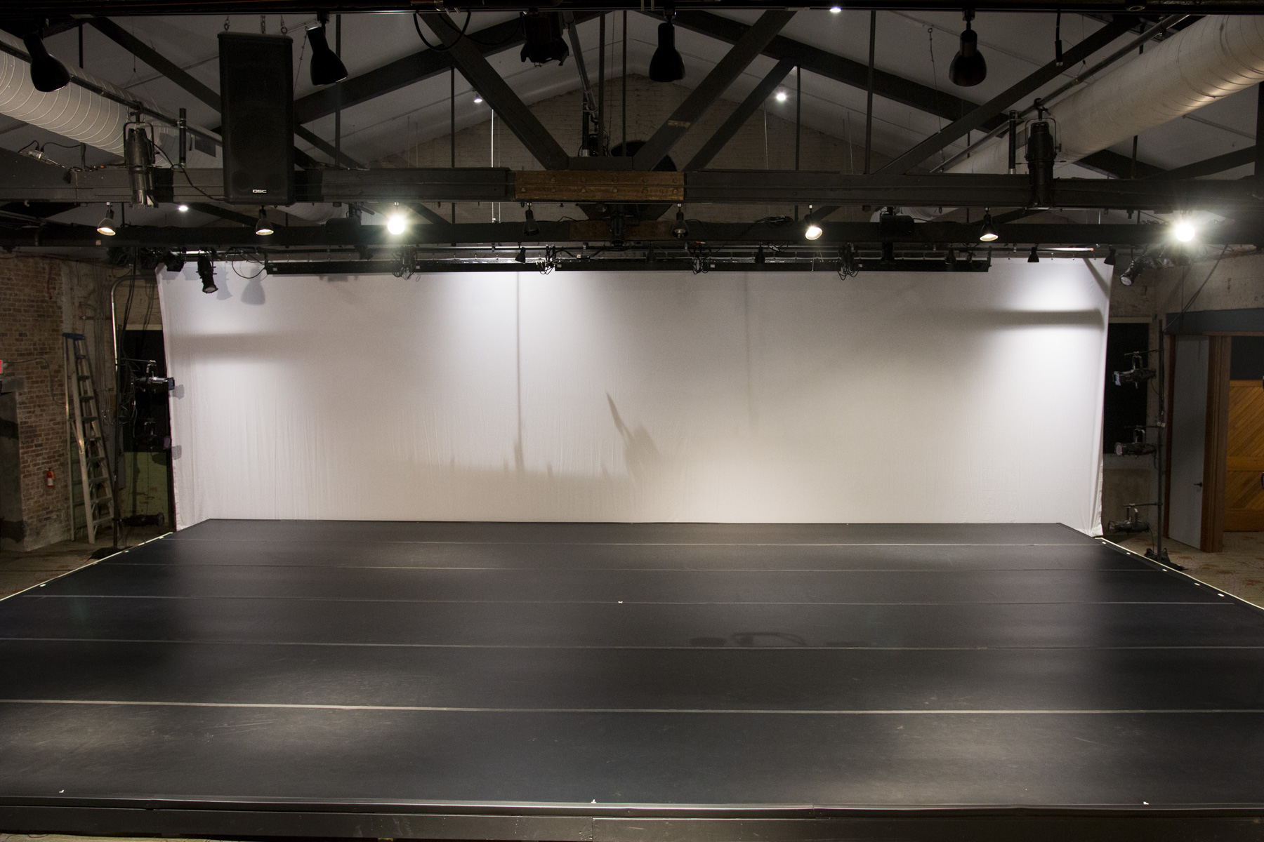 Theater Stage with New Cyclorama