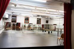 Studio B with New Dance Floor