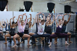 BalletX in Rehearsal with Jorma Elo