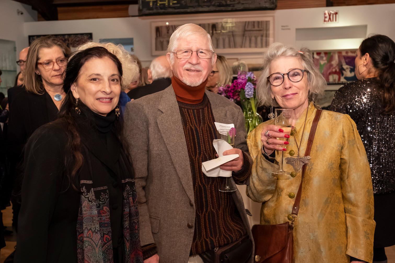Jacqulyn Buglisi, Dr RJ Wallner, Michele Haines
