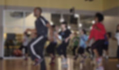 Ford fitness zumba class