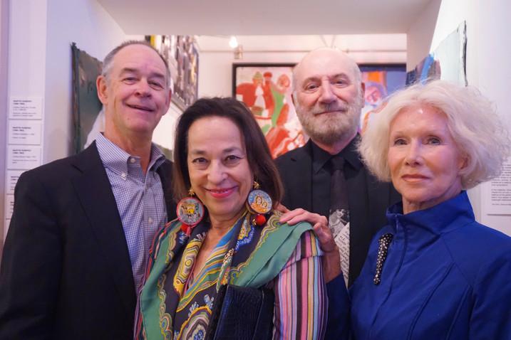 Robert Angevine, Floss Barber, Jim Moss, Mayha Moss