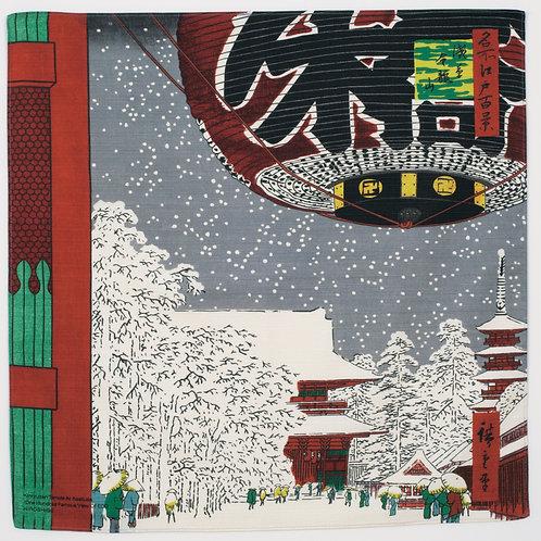 Furoshiki S size: Hiroshige, Asakusa