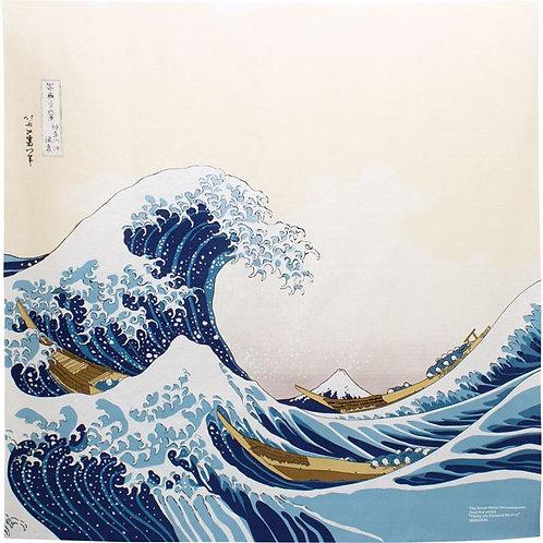 Furoshiki M size- Wave, Hokusai