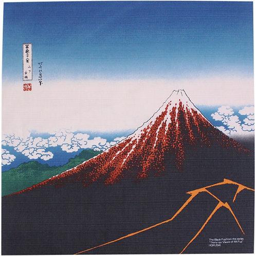 Furoshiki S: Hokusai, Red Fuji