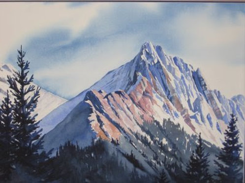 Rocky Mountain High - Original Watercolor
