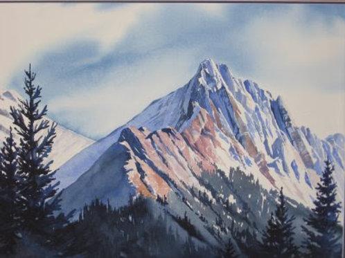 Rocky Mountain High - Original Watercolor