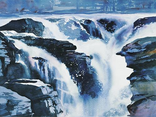 Vertigo - Athabasca Falls