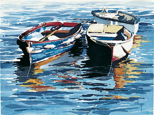 Bobbing Boats - Limited Edition