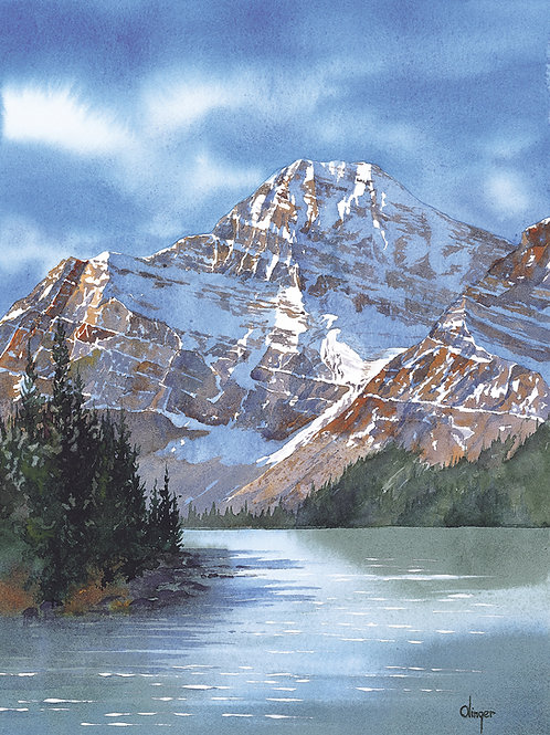 Mount Edith Cavell - Jasper