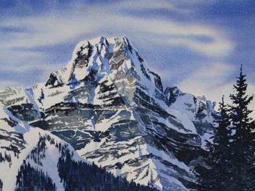 Howse Peak - Original Watercolor
