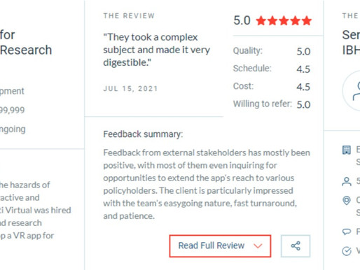 Balti Virtual is a Five-Star Rating Company on Clutch