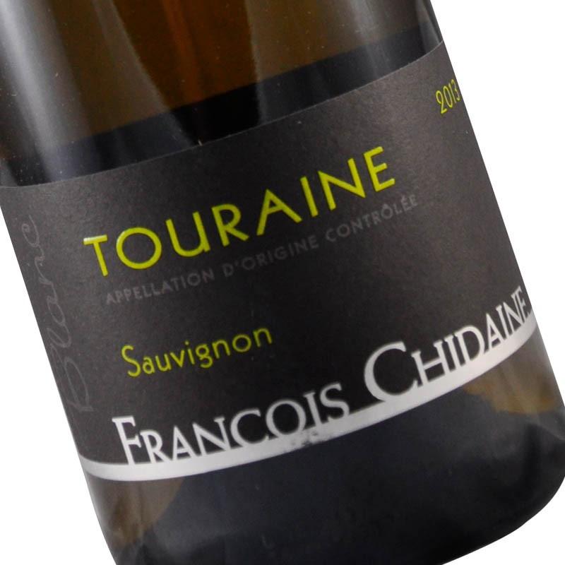 Etiquette du Sauvignon blanc de Touraine de François Chidaine