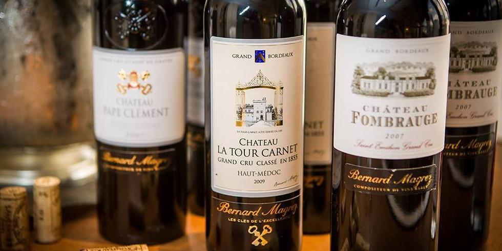 Les grands Bordeaux avec Bernard Magrez