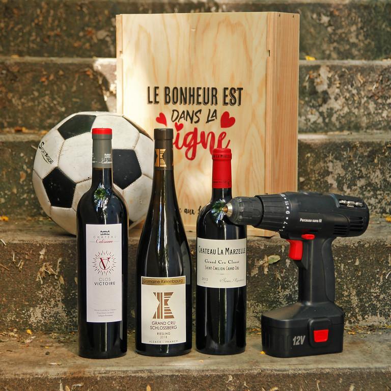 Fête des Pères : offrez ou participez à un cours sur le B.A ba du vin !