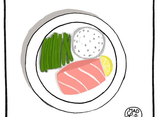 Match Point : Saumon au four, un jeune et fougueux blanc !