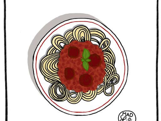 Match Point : Pasta bolognaise, un rouge sexe à pile !