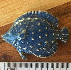 Ceramic Fish, in Blue
