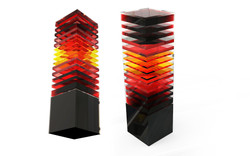 Century Art Crystal, Layered Crystal